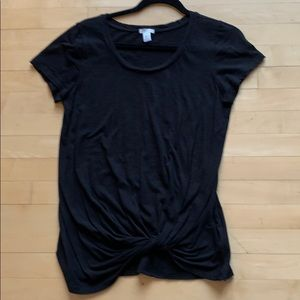 *4/25. BP twisted front T-shirt. S